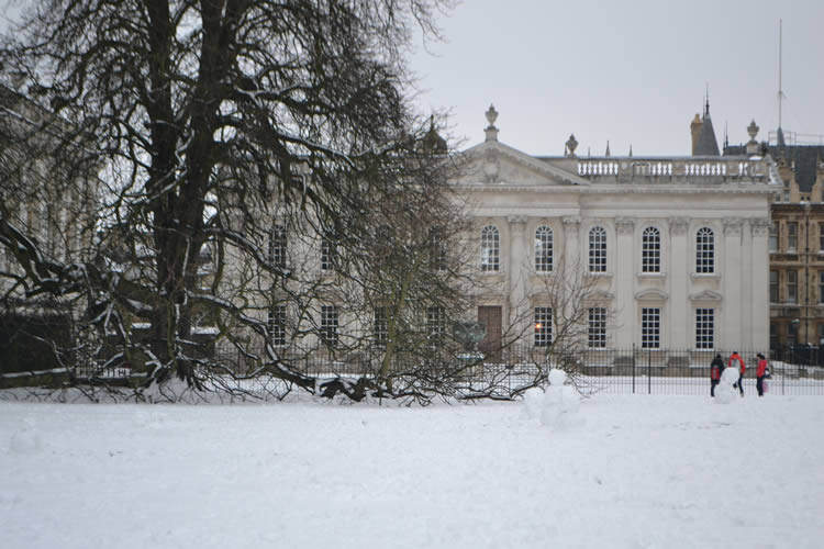 Cambridge Winter Scene | Duke House | City Centre Boutique Bed and Breakfast | Duke House, Cambridge, UK