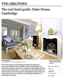 The Cool Hotel Guide - Duke House
