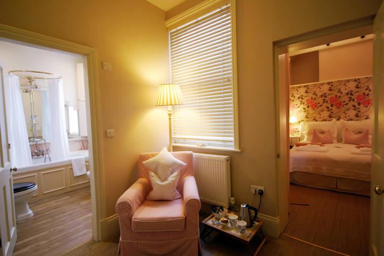 The Cambridge - Sitting Area | Duke House | City Centre Boutique Bed and Breakfast | Duke House, Cambridge, UK