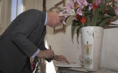 HRH The Duke of Gloucester returns to Duke House