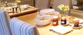 Breakfast Table | Duke House | City Centre Boutique Bed and Breakfast | Duke House, Cambridge, UK