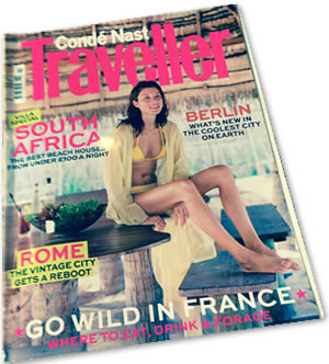 Conde Nast Traveller Cover | Duke House | City Centre Boutique Bed and Breakfast | Duke House, Cambridge, UKover