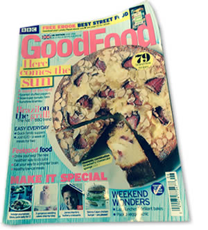 Good Food Magazine Cover | Duke House | City Centre Boutique Bed and Breakfast | Duke House, Cambridge, UK